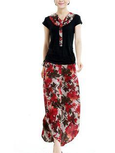 BGimpression Color Flower Cool Dress by pooqDESIGN on Etsy, $30.00