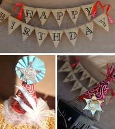 Custom Cowgirl/Cowboy Deluxe Birthday by PaperPrincessStudios, $125.00