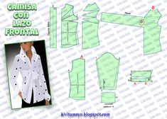 Pattern Drafting Tutorials, Easy Sewing Patterns, Coat Patterns, Blouse Patterns, Skirt Patterns, Girl Dress Patterns, Doll Clothes Patterns, Clothing Patterns, Sewing Coat
