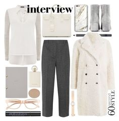 """you're hired"" by foundlostme ❤ liked on Polyvore featuring Gianvito Rossi, Chantecaille, Corinne McCormack, Joseph, Mint Velvet, Studio Sarah, Prada, Yves Saint Laurent, Urban Decay and Chloé"