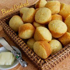 Banana Cornbread is tender and tasty with just a hint of banana.  #AllrecipesAllstars   #MyAllrecipes  #AllrecipesFaceless #banana #cornbread #CornMuffins