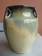 "Fulper Cats Eye 6.5"" Bullet Vase"
