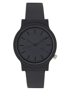 Komono Watch With Plastic Strap