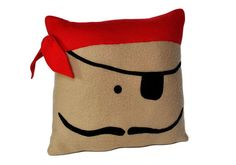 For those cozy pirate moments in the hammock...Pirate Pillow