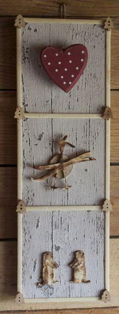 tableau décoration chalet