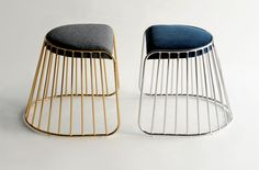 Phase Design - Reza Feiz Designer, Bride's Veil Low Stool