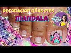 Toe Nails, Nail Art, Mary, Angel, Videos, Youtube, Finger Nails, Simple Toe Nails, Toe Nail Art