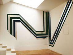 Jens Wolf Sans titre, 2010 Aluminium, tissus 800 x 350 cm