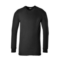 Camiseta interior térmica manga larga Negra