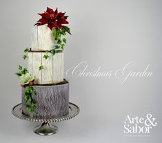 Christmas Garden - Cake by Arte y Sabor