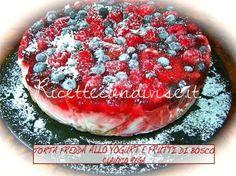 Ricetta Torta fredda ai frutti di bosco e yogurt di Claudio Rega