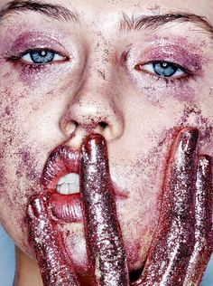 "princessgeorgina: ""andreasanterini: ""Charlotte Free in ""Don't Be Cruel"" / Photographed by Donna Trope / For Purple Fashion Magazine Fall/Winter 2014/2015 "" omg """