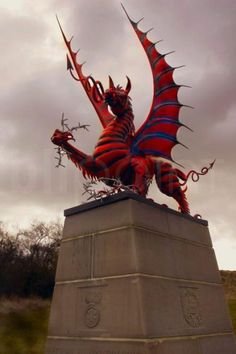 """The Welsh Dragon – Welsh: Y Ddraig Goch (""""the red dragon"""") pronounced [ə ˈðraiɡ ˈɡoːχ] – appears on the national flag of Wales. The flag is also called Y Ddraig Goch. The oldest recorded use of the dragon to symbolise Wales is from the Historia Brittonum, written around 829 AD, but it is popularly supposed to have been the battle standard of King Arthur and other ancient Celtic leaders..."""