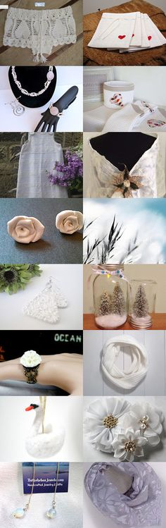 WHITE AND LIGHT by Asiye Kaplan on Etsy--Pinned with TreasuryPin.com