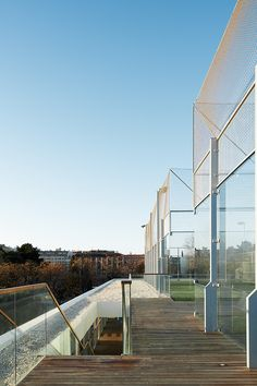 Gallery of The Helios Swimming Centre's General Services Building / ACXT - 21