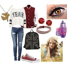 """First Day of Freshman Year"" by onedirectioninfection91 on Polyvore"