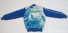 Vintage Chalk Line SEATTLE SEAHAWKS Football Jacket