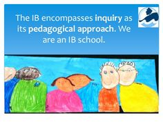 The IB encompasses inquiry as its pedagogical approach. We are an IB school. Winnie The Pooh, Disney Characters, Fictional Characters, Presentation, Play, School, Winnie The Pooh Ears, Fantasy Characters, Pooh Bear