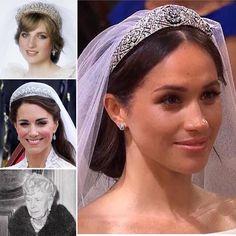 Blowout Hair, Harry And Meghan, Princess Diana, Princesses, Makeup Looks, Jewels, Traditional, Bridal, Wedding