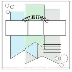 Lily Bee Blog: Sketch Challenge #8, Take 2