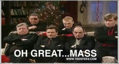 I wonder if priests really do hate mass...