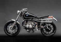 Custom Scrambler BMW R65 Features and Details