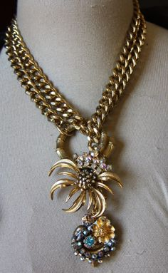 Spring Has Sprung Necklace - one of a kind