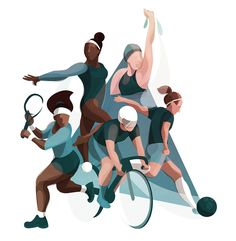 30 Ideas Sport Illustration Design People For 2019 Art And Illustration, Character Illustration, Graphic Design Illustration, Graphic Illustrations, Sport Fashion, Fashion Art, Trendy Fashion, Fashion Design, Sports Graphic Design