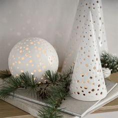 Nobili Schneekugel weiß - klein - Kähler
