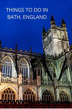From hot springs to history and gourmet dining to culture, there are a lot of great things to do in Bath, England. Here are seven not to miss experiences.