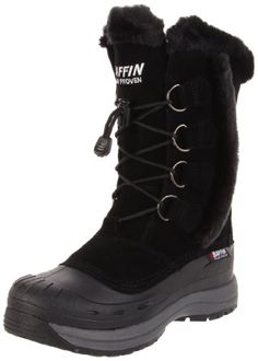 Baffin Women's Chloe Insulated Boot,Black,8 M US >>> Check this awesome product by going to the link at the image.