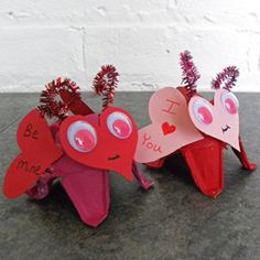 Cute Valentine's craft for the kids on Amazing Moms
