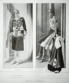 Créations de Jean Magnin, 1927.