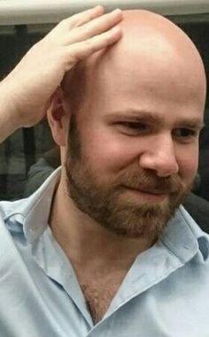 Bald Men With Beards, Hot Beards, Bald With Beard, Great Beards, Bald Head Man, Shaved Head With Beard, Bald Man, Bald Heads, Scruffy Men
