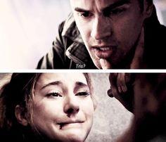 Tris and Four Be Brave Divergent, Divergent Four, Tris And Tobias, Tris And Four, Divergent Fandom, Divergent Trilogy, Tfios, Divergent Insurgent Allegiant, Insurgent Quotes