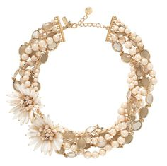 kate spade NEW YORK : MOONLIGHT PEARLS BRIDAL STATEMENT NECKLACE♥