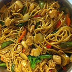 Well i've attempted to make Lo Mein at home a few times because it's my favorite Chinese dish. I finally nailed it!! The sauce tastes like a perfect mix between a stir fry sauce and a lo mein sauce! This recipe is officially in our family 'must have' book!! enjoy :)