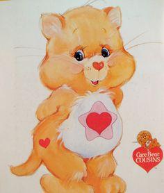 Care bear cousin cat star tummy