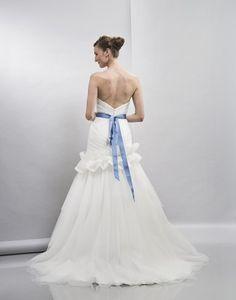 Emma - Bridal Gown by Lis Simon (back)
