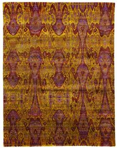 Size: x Construction: Hand Knotted. Collection: MG. Sari Silk, Construction, India, Contemporary, The Originals, Gallery, Colors, Gold, Painting