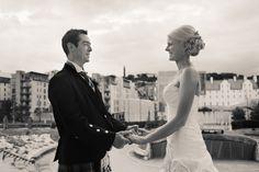 Edinburgh wedding venue #DynamicEarth #Bride #Groom