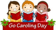 Clip Art and Information for Celebrate Go Caroling Day