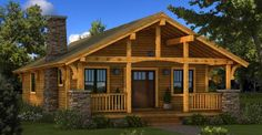 Log houses and cabins are arguably some of the most whimsical homes on the real estate marked.  Even ...