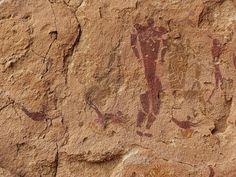 Cueva de los nadadores en Wadi Sura (Desierto Líbico, Egipto)