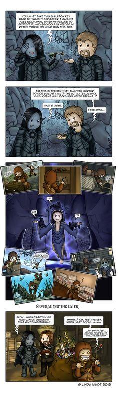 Skyrim: The Skeleton Key by Isriana