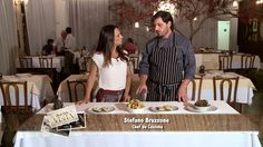 #fabulososnamidia #restaurantesãoroque #gastronomiaitaliana Stefano Hotel e Restaurante no Programa Rede Vida Visita | Com Claudia Tenorio | Chef Stefano Bruzzone | Outubro 2015.