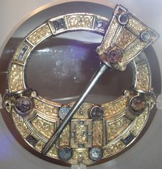 Hunterston Brooch (Celtic brooch found near Hunterston, North Ayrshire, Scotland; National Museum of Scotland)
