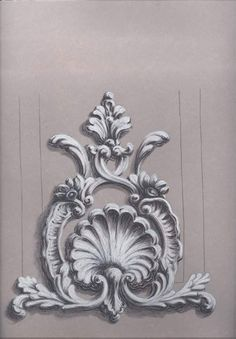 Baroque Ornament Art Ideas Art Barocco Baroque Ornament Happy New Year Stone Carving, Wood Carving, Motif Arabesque, Cement Art, Plaster Art, Grisaille, Carving Designs, Idee Diy, Acanthus