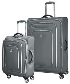 travelpro inflight lite 2 piece expandable spinner luggage set charcoal see this awesome - Travel Pro Luggage