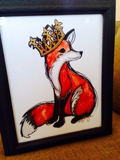 Ally Burguieres, Fox with crown, New Orleans, LA.
